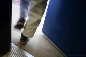 Image credit: walking out the door. woodley wonder works, Flickr, CC BY