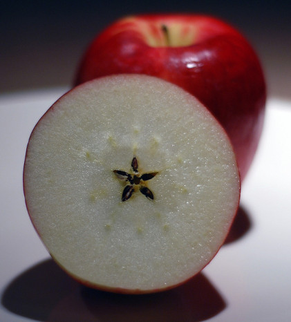 An apple a day by Denise Cross, Flickr, CC BY