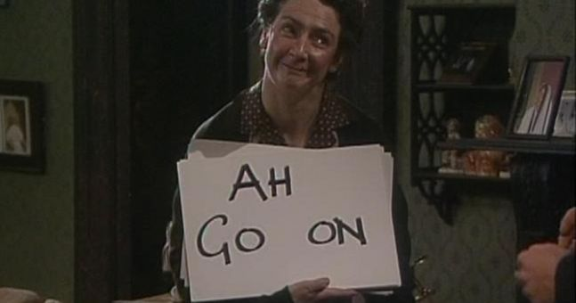 From Father Ted. Sorry for non-Brits.