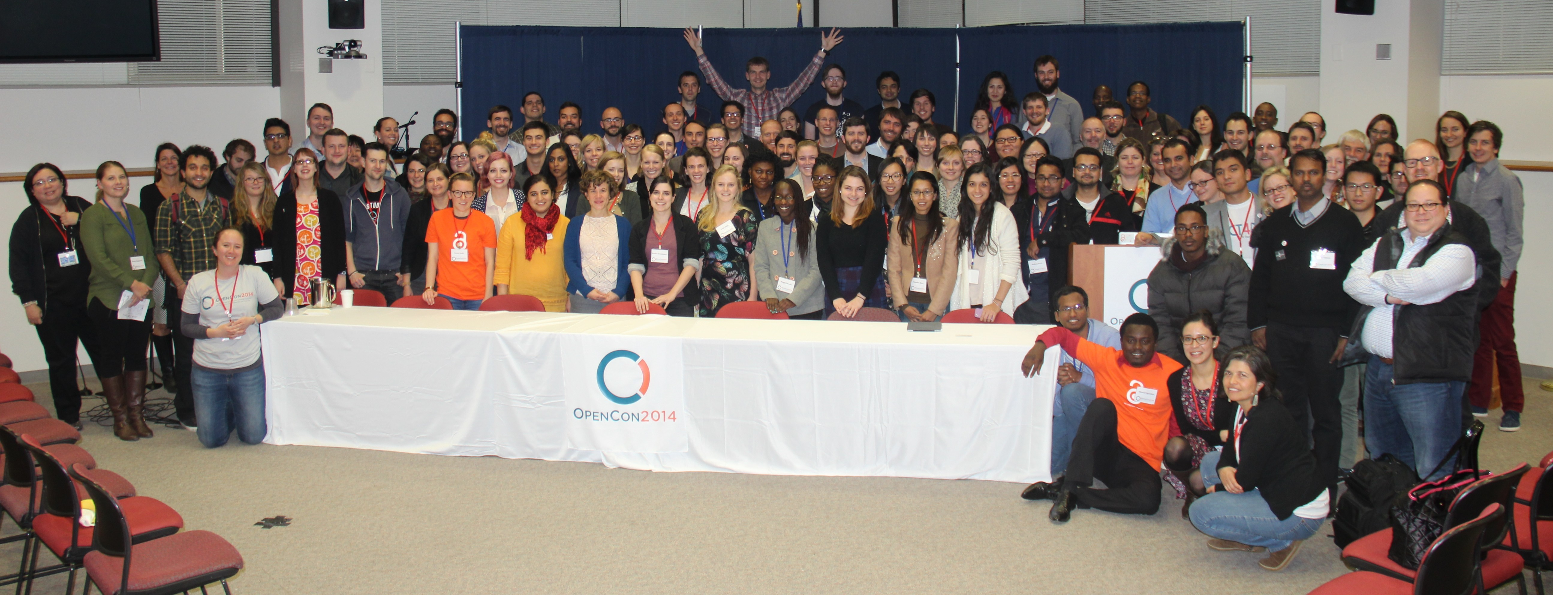 OpenCon 2014 group photo. Credit: Aloysius Wilfred Raj, CC BY.