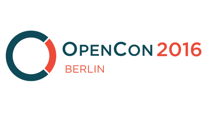 OpenCon Berlin 2016: Advancing Openness in Research and Education