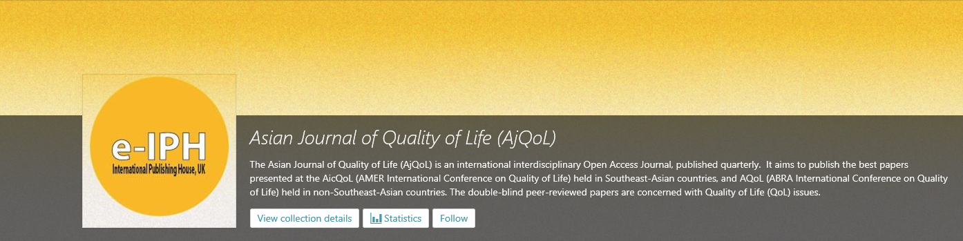 asian journal of quality of life