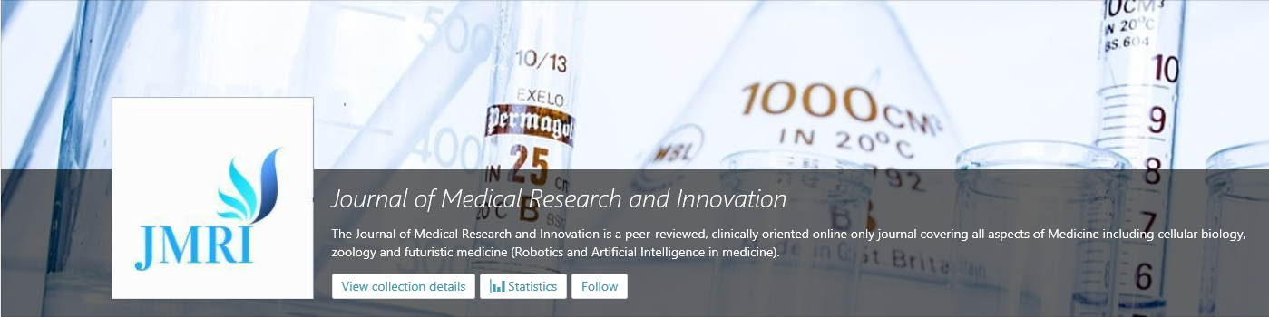 journal of medical research and innovation