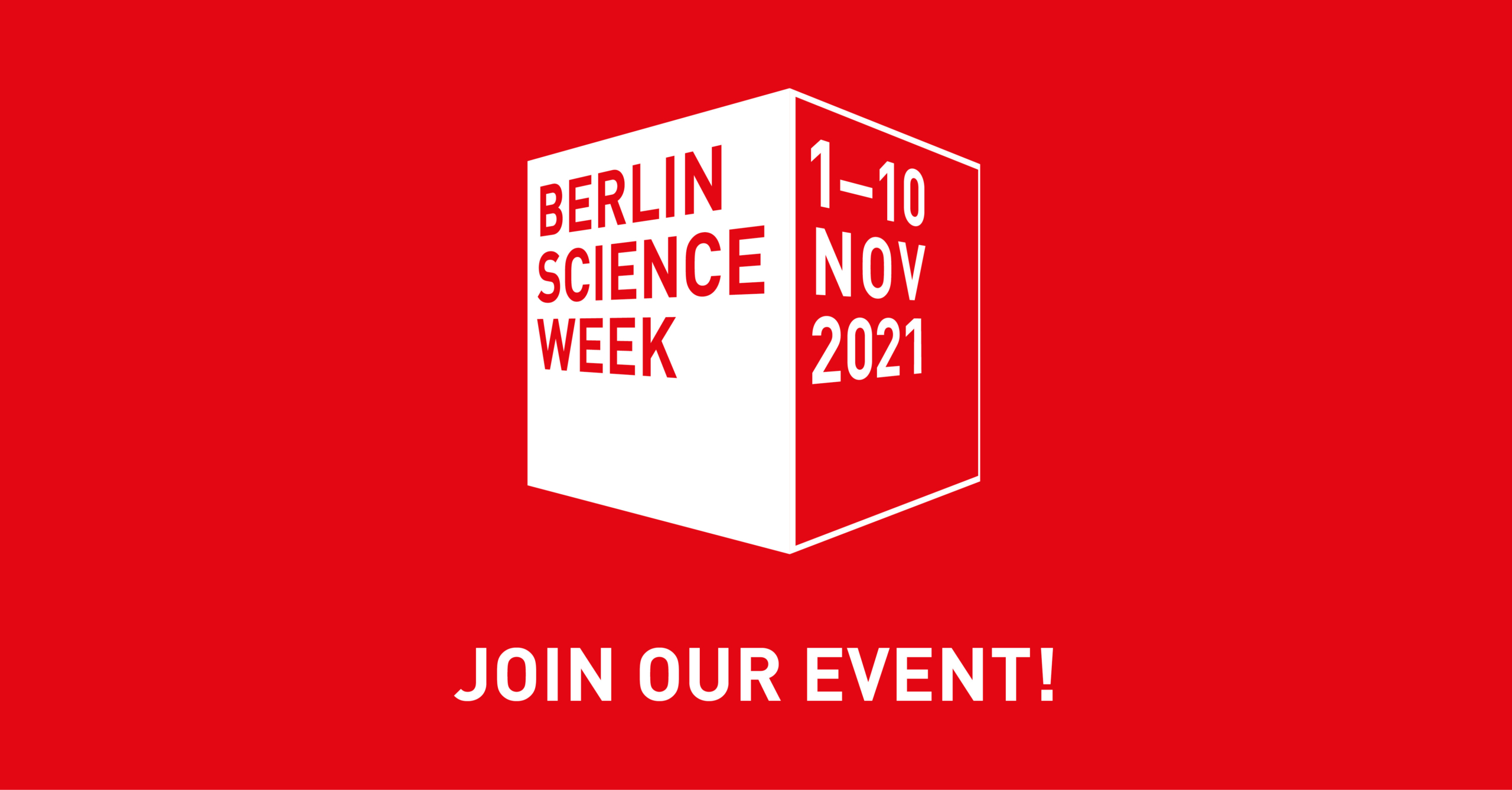 """WHAT HAS THE PANDEMIC TAUGHT US ABOUT """"OPEN SCIENCE""""?   Berlin Science Week 2021"""